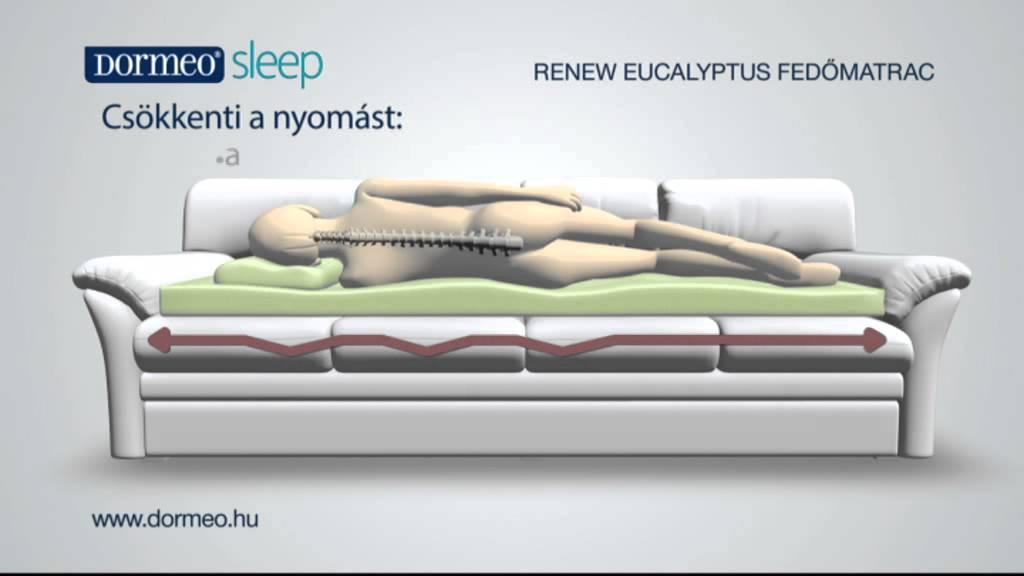 Dormeo Eucalyptus fedőmatrac - YouTube 84e39baed2