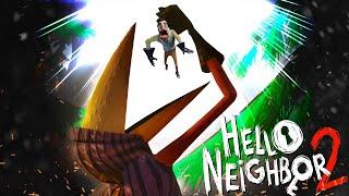 ВОРОН ВСЕХ СЪЕЛ - ПОЛНОЕ ПРОХОЖДЕНИЕ АЛЬФА 1.5 ПРИВЕТ СОСЕД 2 часть 1 | Обновление Hello neighbor 2