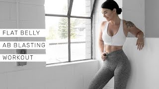 FLAT BELLY TRAINING - 20min Abs Blaster At-Home Workout thumbnail