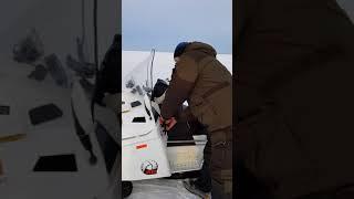 снегоход тайга патруль 551 SWT белый подсветка мотора