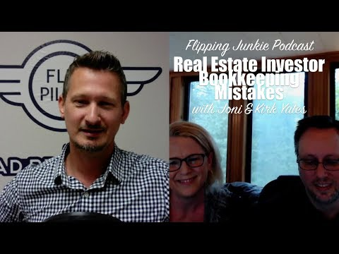 Real Estate Investing Bookkeeping Mistakes: Flipping Junkie