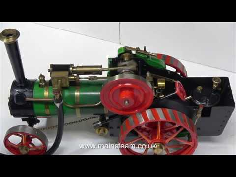 A MARKIE TRACTION ENGINE  - PART #1 - IN THE WORKSHOP