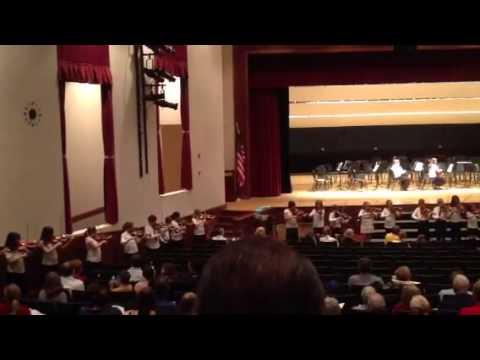 Clarence Elementary School Orchestra - Orange Blossom Speci