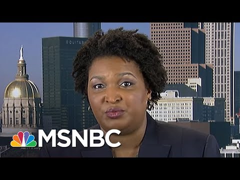 Can Georgia State Rep. Stacey Abrams Win The Governorship? | AM Joy | MSNBC