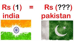 One indian rupee is equal to how many pakistani rupees (hindi/urdu) . Indian rupees to pakistani RS