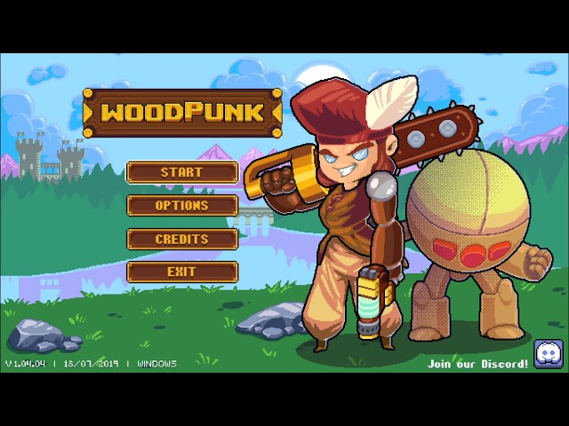 Let's Play: Woodpunk