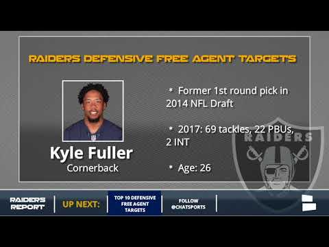 10 Defensive Free Agents The Raiders Could Target in 2018, Featuring Malcolm Butler & Kyle Fuller