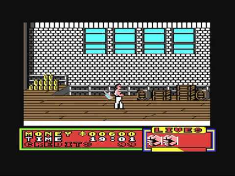 Commodore 64: Street Warrior game ending by Silverbird