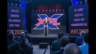 XFL Cities and Stadiums: Official Announcement