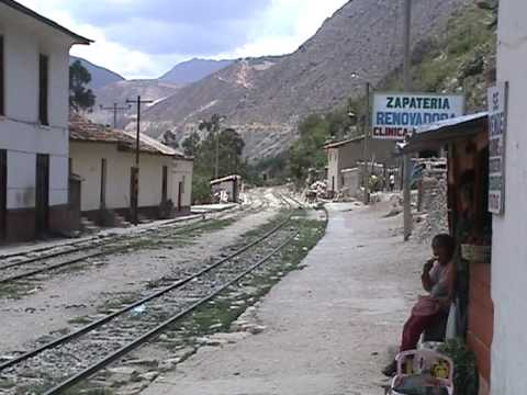 Huancayo to Huancavelica by train in Peru