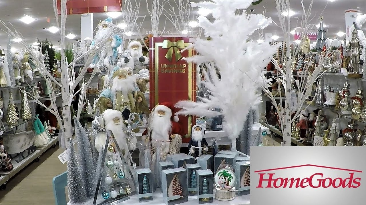 Christmas decor at home goods christmas 2018 shopping - Pictures of homes decorated for christmas on the inside ...