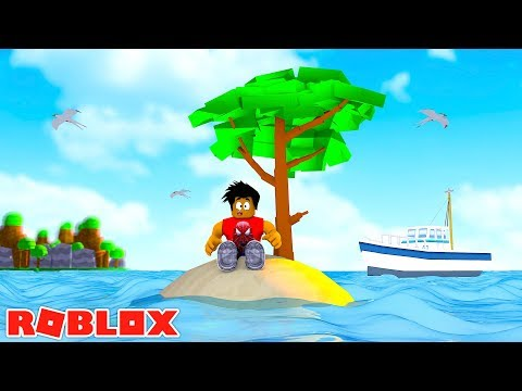 ROBLOX ISLAND SURVIVAL - DONUT TRIES TO SURVIVE ON THE ISLAND!!