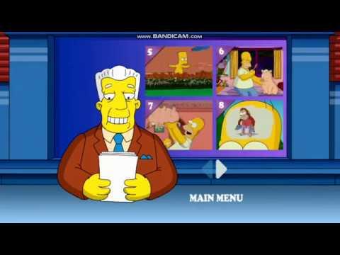The Simpsons Movie Dvd Menu Walkthrough Youtube