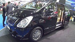2016, 2017 Hyundai H1 Grand Starex Royale Elite review смотреть