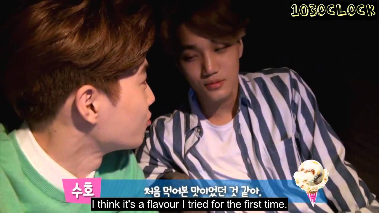 Download [ENGSUB] 150521 Baskin Robbins self cam - Suho & Kai