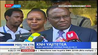 Health CS Cleopa  Mailu speaks on the KNH sexual abuse allegations