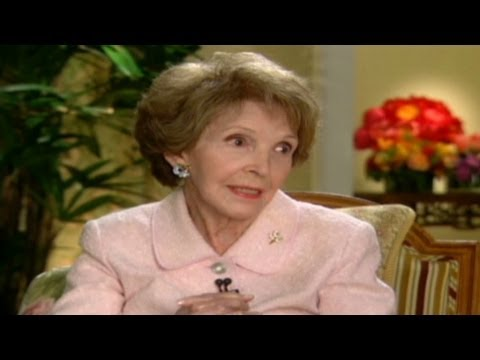 Nancy Reagan tells Larry King about Ronald Reagan