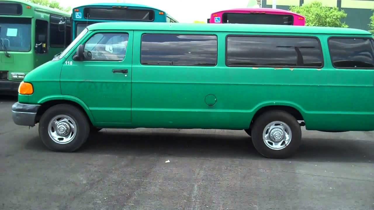 374513 2000 Dodge Ram Van 3500 Maxivan 5 9l V8 Ohv 16v