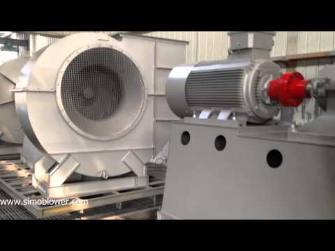 How to paint spraying for centrifugal fan—SIMO Blower