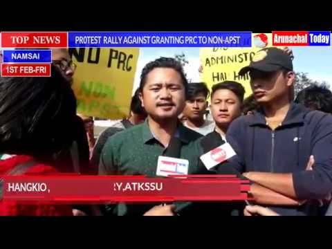HUNDRED OF PEOPLE JOINED PROTEST RALLY AGAINST GRANTING PRC TO NON-APST