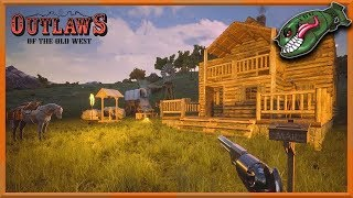 Outlaws of the Old West - Single Player  - Roaming Around (PC) gameplay 2019