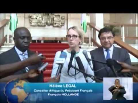 Hélène LEGAL Conseiller Afrique du Président de la France SEM François HOLLANDE