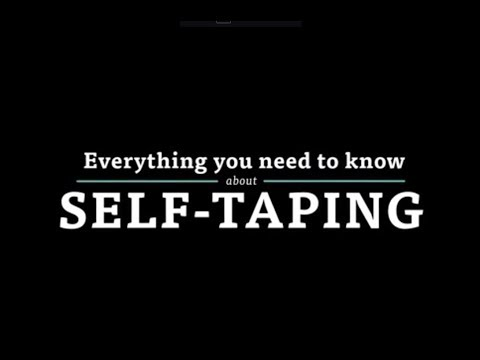 Everything You Need to Know About: Self-Taping