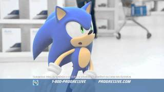Progressive Insurance - Sonic The Hedgehog