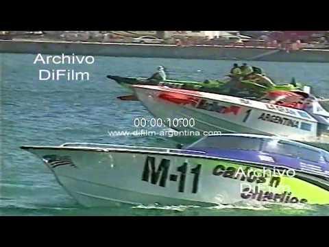 Daniel Scioli - La Gran Argentina - Offshore en Key West 1992