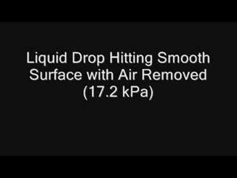 Liquid Drop Hitting a Flat Surface