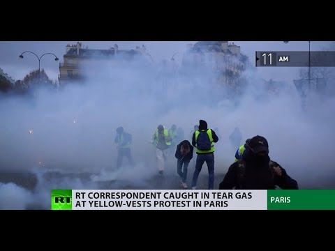 Follow RT's crew as Yellow Vest protests unraveled in Paris