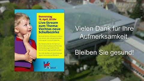 Live-Stream: Vechtas neue Schulbezirke