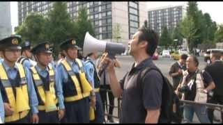 120622官邸前抗議 右から考える脱原発ネットワーク