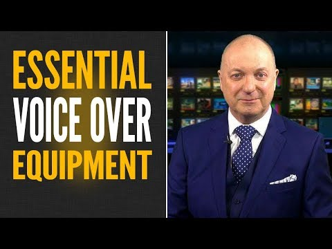 VOICE OVER EQUIPMENT - Essential Equipment for Recording Voice Overs 🔴