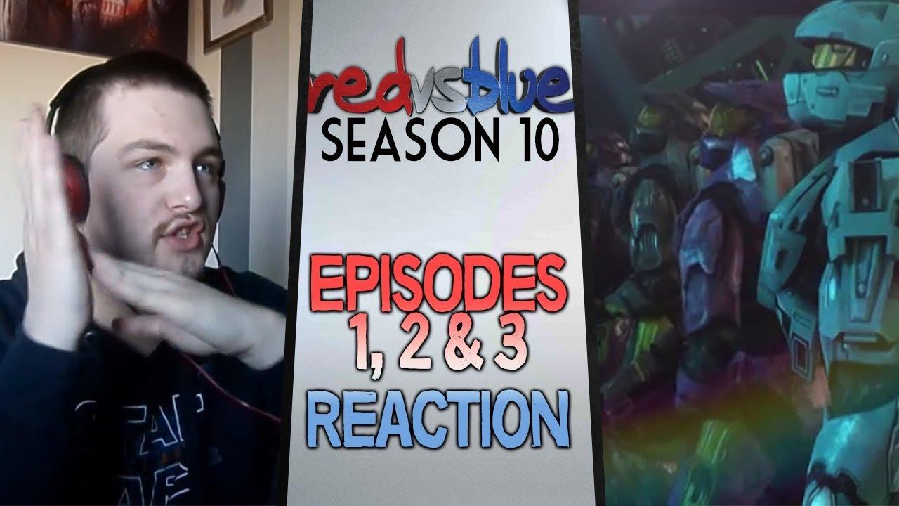 Download Red vs. Blue Season 10 Episodes 1 - 3 Reaction