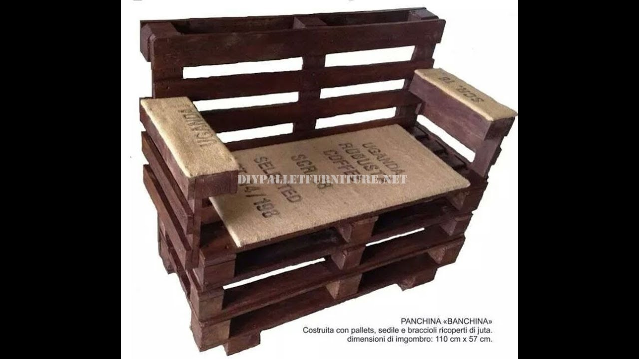 Come Fare Una Panca In Legno.Come Fare Una Panchina Con Pallet