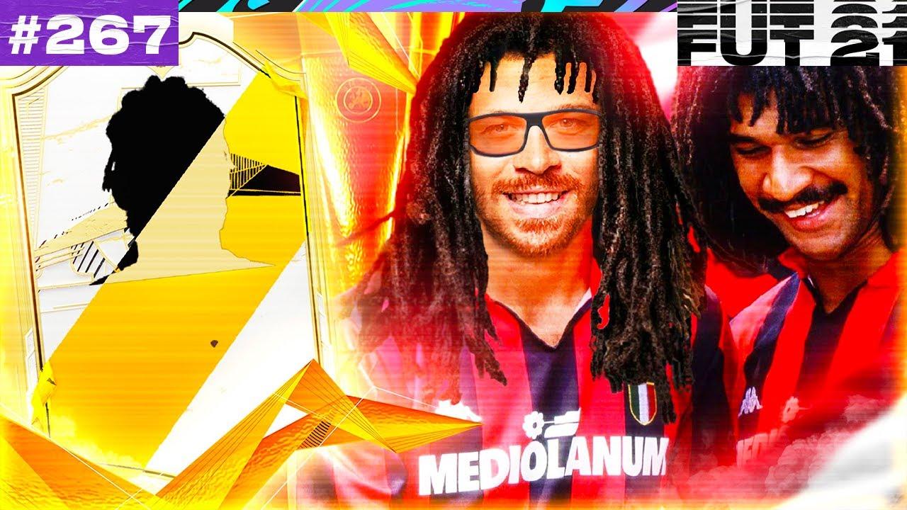 FIFA 21 I GOT THE NEW INSANE CHEAP ICON GULLIT FOR FUT CHAMPIONS & BUILT THIS UNSTOPPABLE SQUAD!