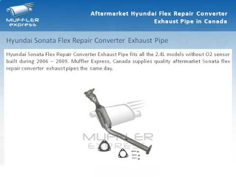 Aftermarket Hyundai Flex Repair Converter Exhaust Pipe In Canada