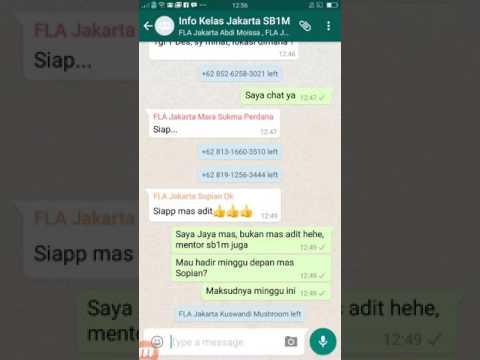 Cara Delete Kontak Di Whatsapp