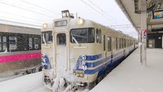 【ありがとうキハ48】奥羽本線 普通弘前行き キハ48系 2021.01.04