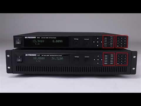 BK Precision- 9115 Series   Multi Range Programmable DC Power Supplies
