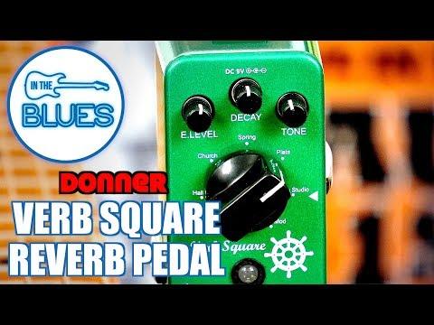 Donner Verb Square Reverb Pedal