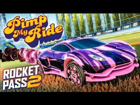 PIMP MY ROCKET LEAGUE RIDE - ROCKET PASS 2