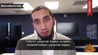 Fecr Vakti Kur'an [Nouman Ali Khan] [Türkçe Altyazılı]