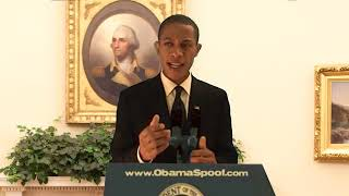 Obama Mentions Ryan Higa During Press Conference (Parody) Best Obama Impersonator