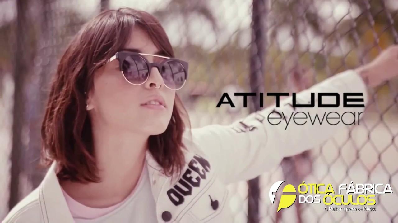 c510a564a5274 ATITUDE eyewear Fábrica dos Óculos !!! - YouTube