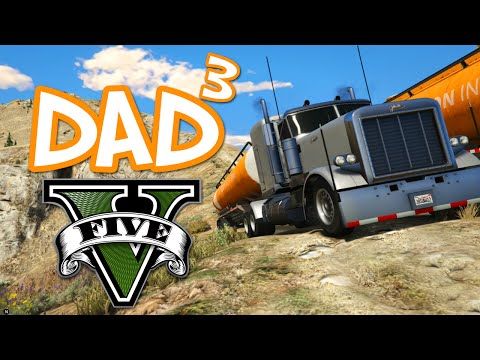 Dad³'s Father and Son-Days - GTA V - Mountain Truckers!