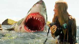 """Great White Shark Attack - """"32 Seconds"""" - The Shallows (2016) Movie Clip HD"""