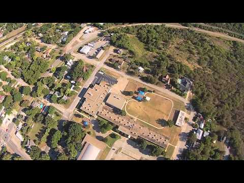Midlothian, Texas Sky view from drone.