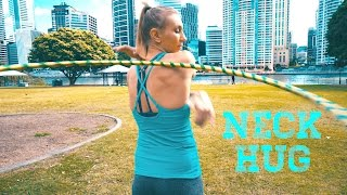 the Neck Hug - 2 min HOOP tutorial